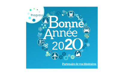 Progress vous présente ses meilleurs vœux 2020